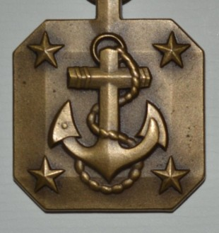 This Navy Achievement Medal is again of a high quality finish with raised detail.